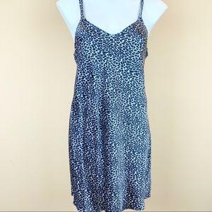 Valerie Stevens silk chemise slip dress nightgown